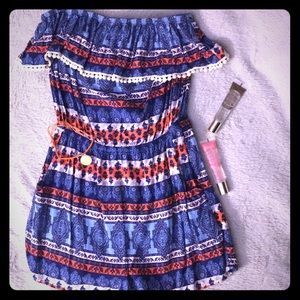 Cute romper with patterns